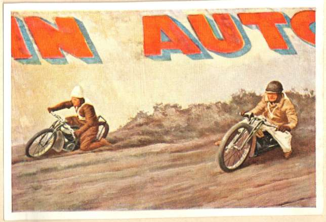 1933 Sanella fig. 2, Motorcycle Dirt Race