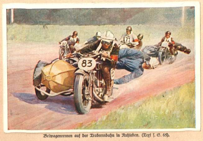 1933 Sanella fig. 4, Beiwagenrennen
