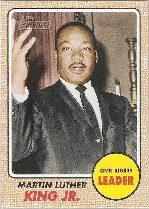2009 Topps American Heritage #51, Martin Luther King Jr.