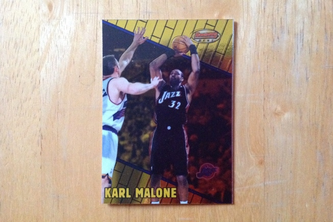 2000 Bowman's Best #70 Karl Malone