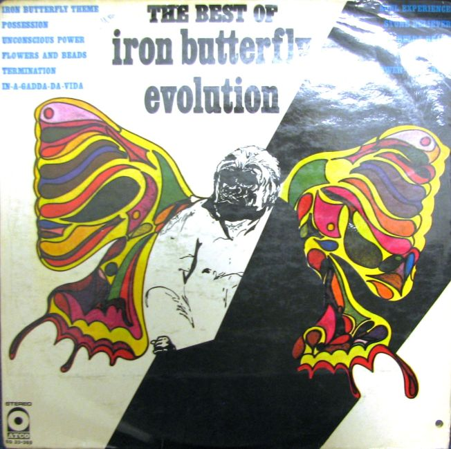The Best of Iron Butterfly Evolution