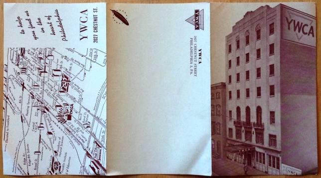 YWCA, tri-fold, 1